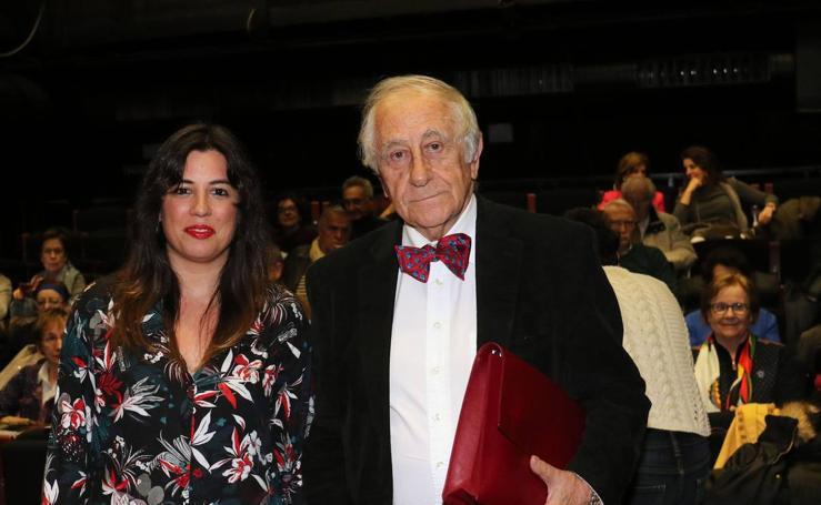 Inocencio Arias portagoniza un recital lírico en el Aula de Cultura junto a Victoria Ash en la Sala Experimental del Teatro Zorrilla