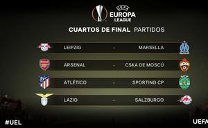 Atlético-Sporting de Portugal, en cuartos