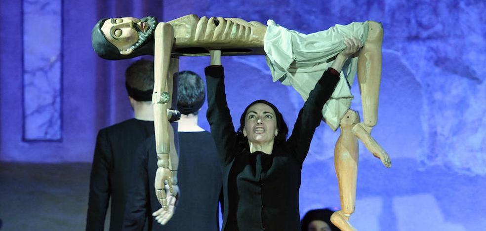 Nao d'Amores saca a la provincia su 'Misterio del Cristo de los Gascones'