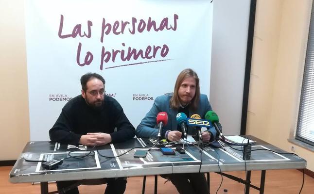 Podemos presentará dos proposiciones no de ley sobre transporte y cultura de Ávila