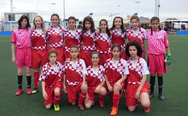 Castilla y León, semifinalista en fútbol 8 femenino