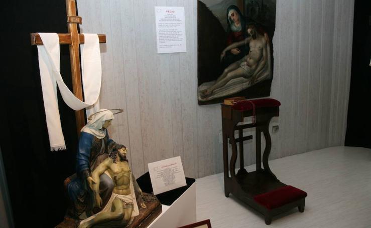 Exposición de arte sacro en Cuéllar