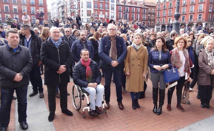 Concentración en Valladolid en apoyo a la prisión permanente revisable