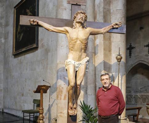 La Hermandad Franciscana reza por la paz el Sábado de Pasión