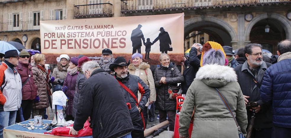 Más de 3.000 personas se movilizan para exigir al Gobierno unas «pensiones dignas»