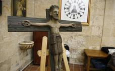 El Cristo de San Damián, al culto en San Martín