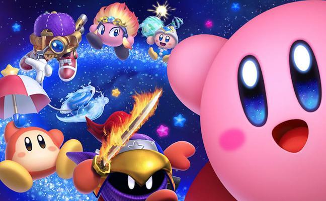 'Kirby Star Allies': Amor rosa