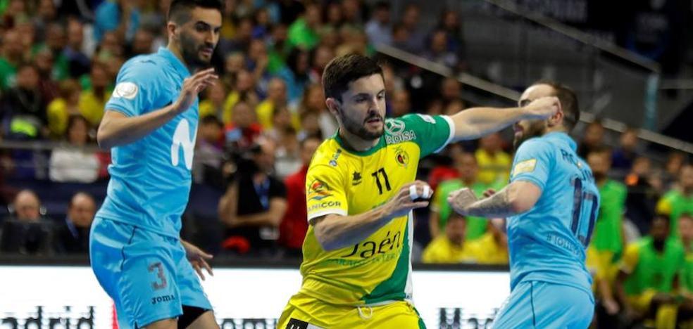 El salmantino Dani Martín, clave en la segunda Copa del Jaén Paraíso Interior