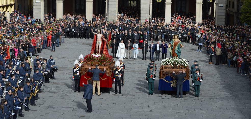 Programa de procesiones del Domingo de Resurrección, 1 de abril, en Zamora