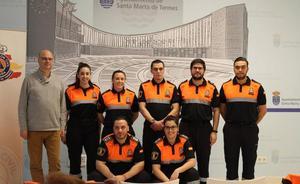 Protección Civil refuerza sus efectivos con la incorporación de ocho nuevos voluntarios