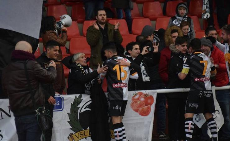 Unionistas de Salamanca recupera el liderato tras vencer al Atlético Bembibre (0-1)