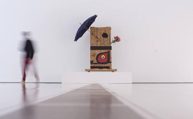 Miró, cazador de objetos, soñador de formas
