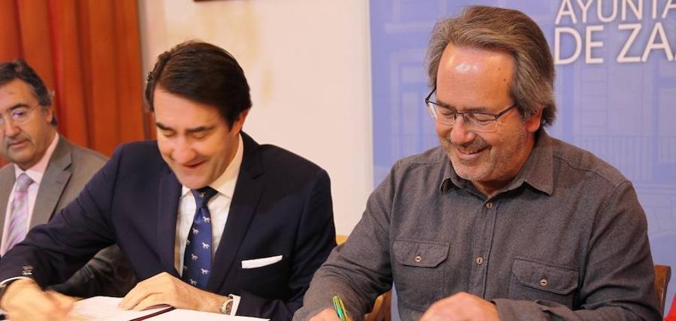 Firmado un convenio para mejorar la coordinación de la gestión del parque público de viviendas