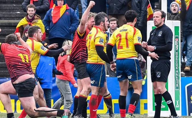Rugby Europa analizará el viernes el Bélgica-España