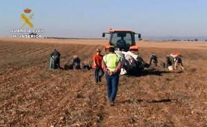 Detenidas 18 personas en Ciudad Real por explotación laboral de extranjeros