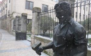 La nieve vuelve a cubrir de blanco Burgos, con accidentes e incidencias en carretera
