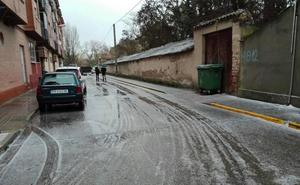 Precipitaciones de hielo sobre Peñafiel