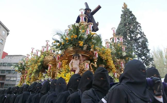 Programa de procesiones del Lunes Santo, 26 de marzo, en León