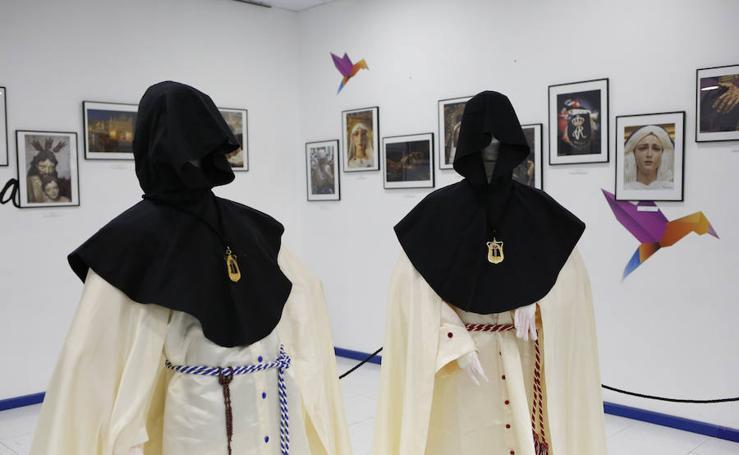 Exposición sobre la Semana Santa que organiza la Hermandad de Jesús Amigos de los Niños