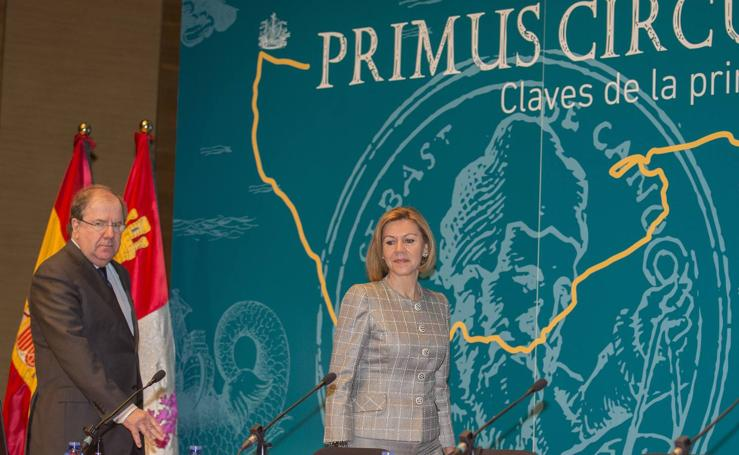 Dolores de Cospedal inaugura en Valladolid el Congreso Internacional de Historia 'Primus Circumdedisti Me. Claves de la primera globalización'