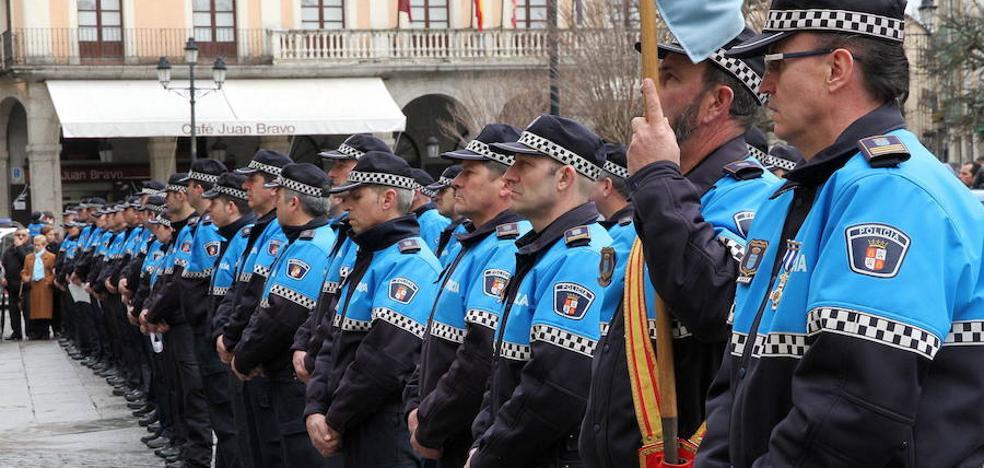 La Policía Local de Segovia plantea una Semana Santa sin horas extra