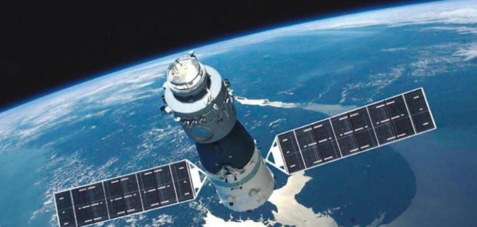 El norte de España, en la franja de riesgo para la caída de la estación espacial 'Tiangong-I'