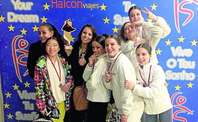 Siete bailarinas de Palazuelos representarán a España en la fase europea de 'Vive tu Sueño'