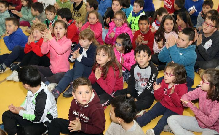 Día del Árbol en el colegio Elena Fortun