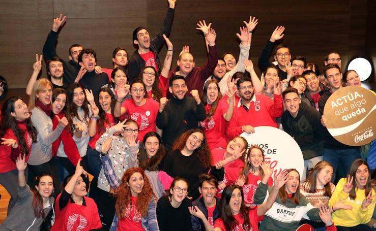 Fran Perea, en la Escuela de Arte Dramático de Casilla y León