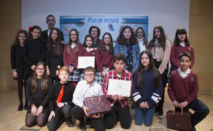 Entrega de premios del Certamen de Lectura en Público de Castilla y León
