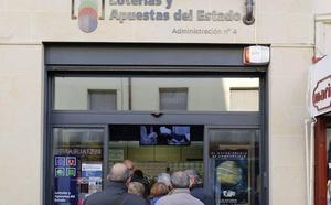 La serie del primer premio del sorteo de El Padre consignada en Palencia fue devuelta