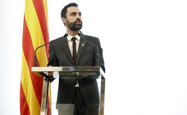 Torrent asume la renuncia de Jordi Sànchez y este jueves abrirá una nueva ronda de consultas