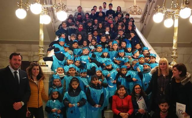 Los alumnos del Amor de Dios se sumergen 'En busca del agua'