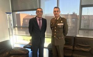 Las autoridades civiles ofrecen toda su colaboración al nuevo general del Mando de Ingenieros