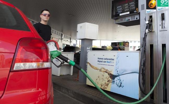 El consumo de carburantes crece en la comunidad por cuarto año consecutivo