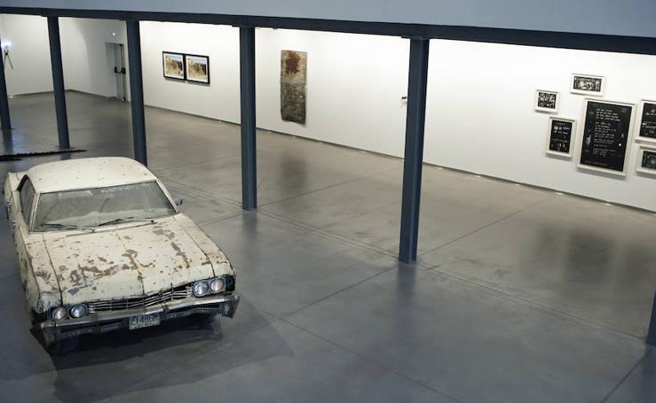 Inauguración de la exposición 'I am the cosmos', del artista salmantino Félix Curto, en el DA2 de Salamanca