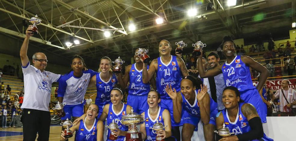 Avenida, galardonado con el Premio Atlas de Baloncesto Femenino