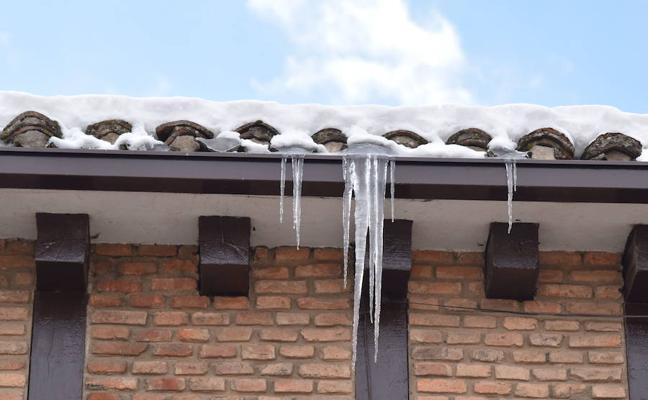 Camporredondo, con 7,9 grados bajo cero, entre las diez temperaturas más bajas de España