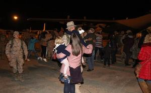 Los ingenieros militares regresan a Salamanca desde Irak