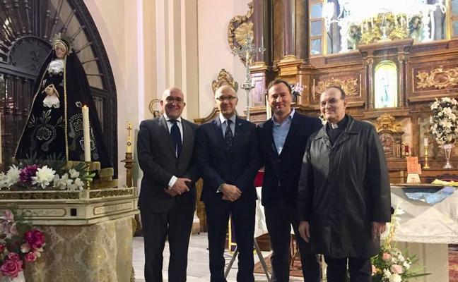 Ruiz Medrano pregona en Carpio una Semana Santa que tilda de «expresión profunda de la vida»