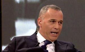 Carlos Lozano se enfrenta a los colaboradores de 'Sálvame'