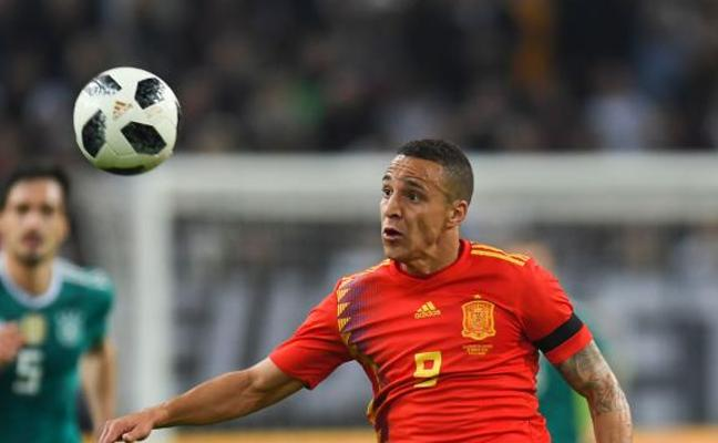 Rodrigo: «Ha sido un partido de altísimo nivel»