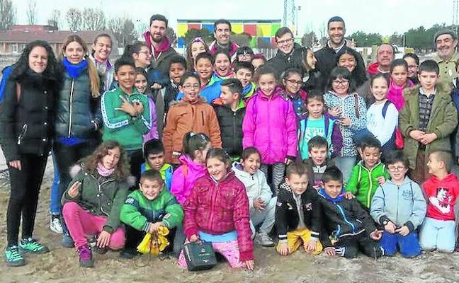 Los escolares de Sanchonuño, comprometidos con la naturaleza