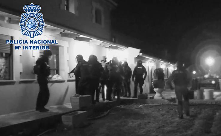 Las imágenes de la macrorredada contra la droga y el blanqueo de dinero en Valladolid