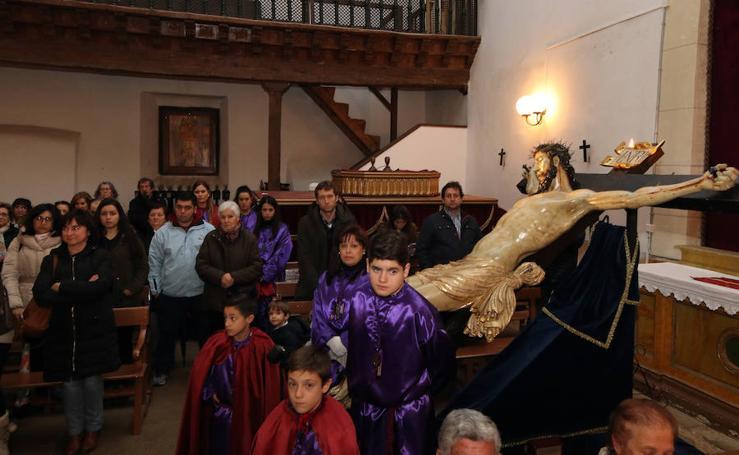 Viernes de Dolores pasado por agua en Segovia