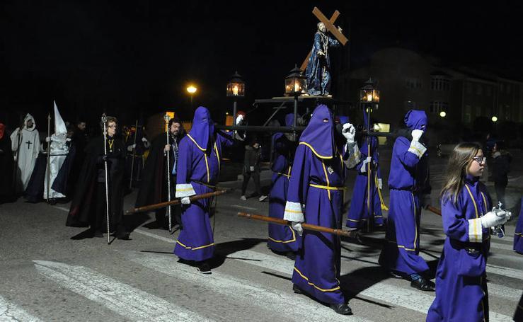Traslado procesional de Nazareno de la Cruz
