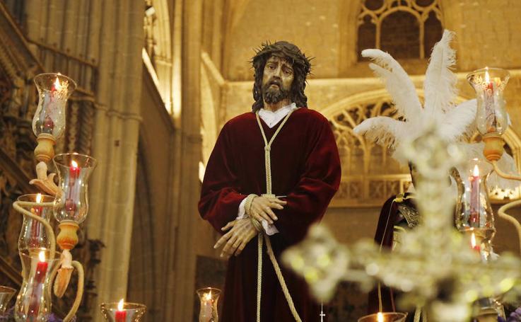 La procesión de la Sentencia en Palencia