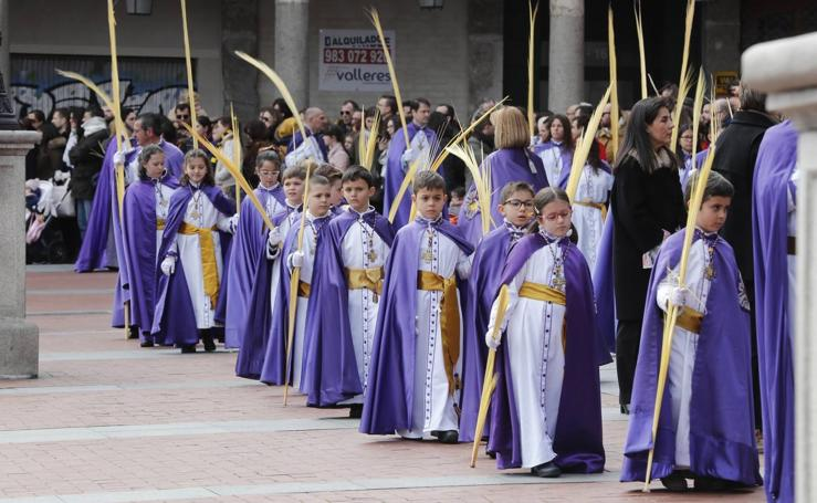 Público en la Procesión del Domingo de Ramos en Valladolid (2/2)