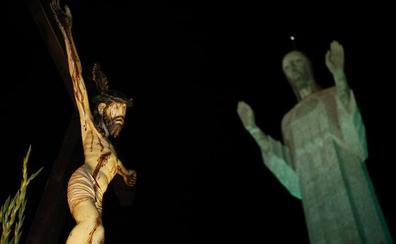 Dolor bajo el Sagrado Corazón de Victorio Macho en Palencia