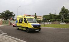 Herido grave un motorista al salirse de la vía en un camino de Palencia